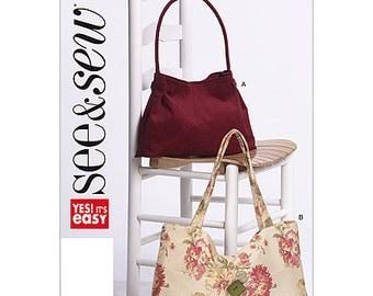See & Sew Sewing Pattern B5412 - Handbags