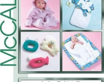 McCall's Crafts Sewing Pattern M4535 - Infant's Bath Essentials
