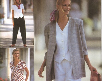 Simplicity Sewing Pattern 8964 - Misses' Pants, Shorts, Top, Jacket (18-22)