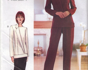 Vogue Sewing Pattern 7182 - Misses' Jacket, Skirt & Pants (6-10, 12-16)