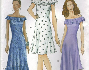 Vogue Sewing Pattern 7306 - Misses' Dress (14-18)