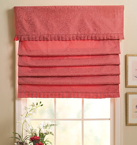 Butterick sewing pattern b4311 window shades from for Professional window treatment patterns