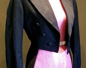 1930s tail coat / Richman Brothers black suit top.