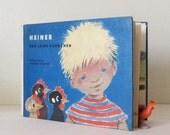 Heiner und Seine Hahnchen - Vintage Childrens German Illustrated Story Book - Heiner and his Little Roosters