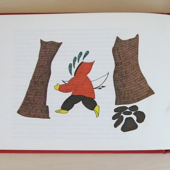 Tales from the Igloo - Vintage Book of Illustrated Inuit Folklore Mythology