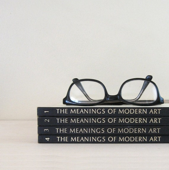 MOMA - Art Book Collection - The Meanings of Modern Art - 4 Volumes