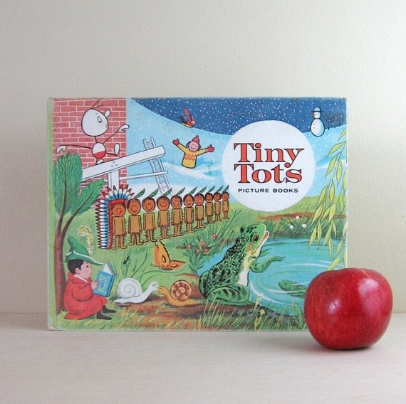 Tiny Tots Picture Books - Vintage Childrens Stories