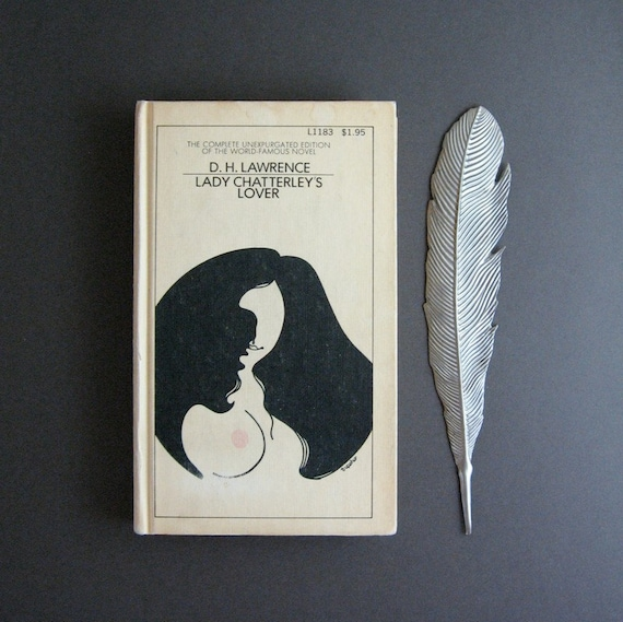 Lady Chatterley's Lover - D H Lawrence Vintage 1960s Hardcover Book