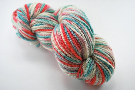 Stipple dyed Canadian BFL - Aberdeen