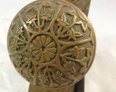 Antique Eastlake Aesthetic Doorknob Set
