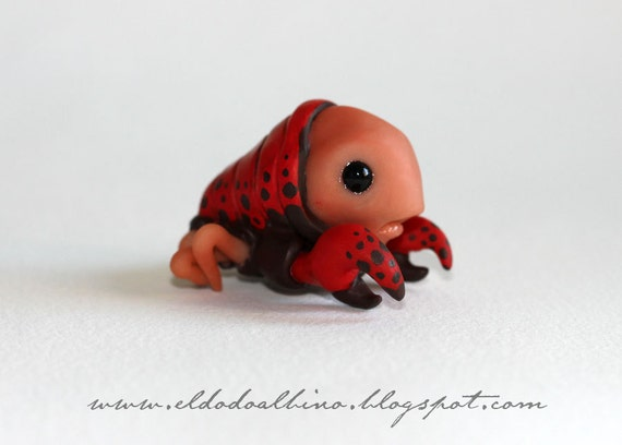 Crabby . OOAK art doll. Weird Wee Bug