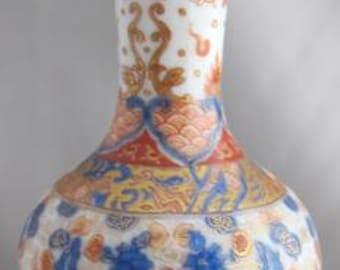 19th Century Koransha Japanese Vase