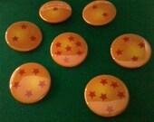 Dragon Ball Z Dragon Ball Buttons Now On Sale
