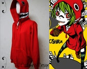 Vocaloid Matryoshka Hoodie color Red worn by Gumi