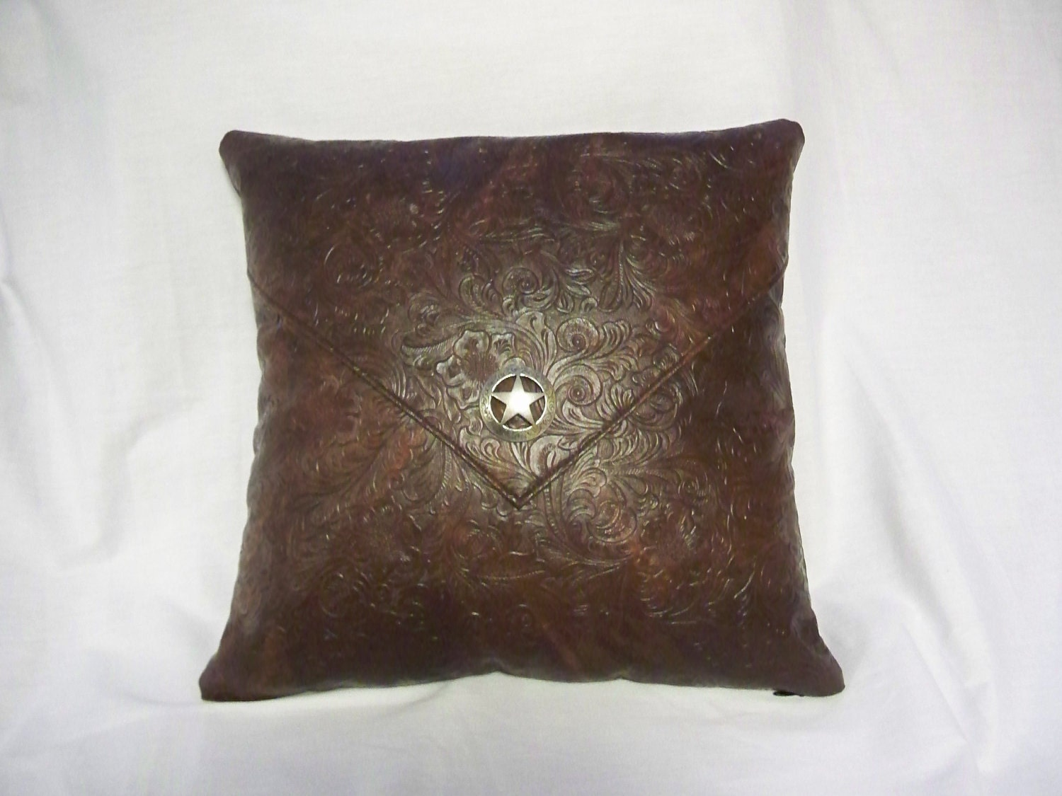Modern Southwest Pillow : Western Decorative Pillow Southwest Pillow by ThreeBarDGifts