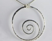 Elements - Wave Necklace in Sterling Silver