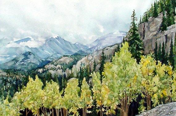 Rocky Mountain Aspens in Rocky Mountain National Park