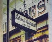 Antoine's Restaurant Coaster New Orleans
