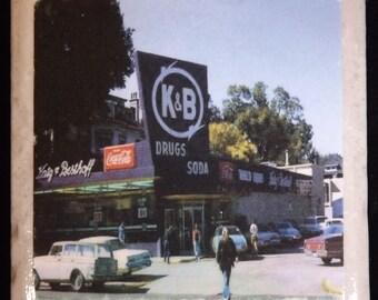 K & B Drug Store Coaster