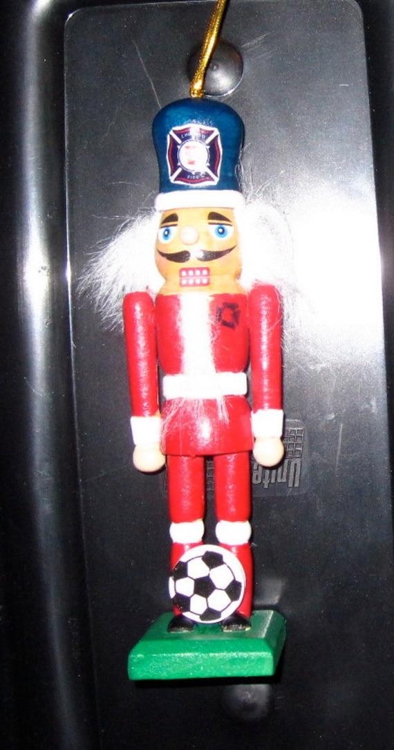 Chicago Fire MLS Soccer Nutcracker