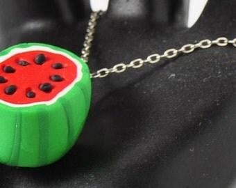 Watermelon Necklace Pendant