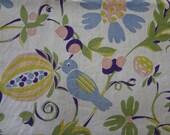 Vintage Birds, Flowers & Fruit Tablecloth