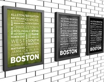 Boston Poster - 11x14