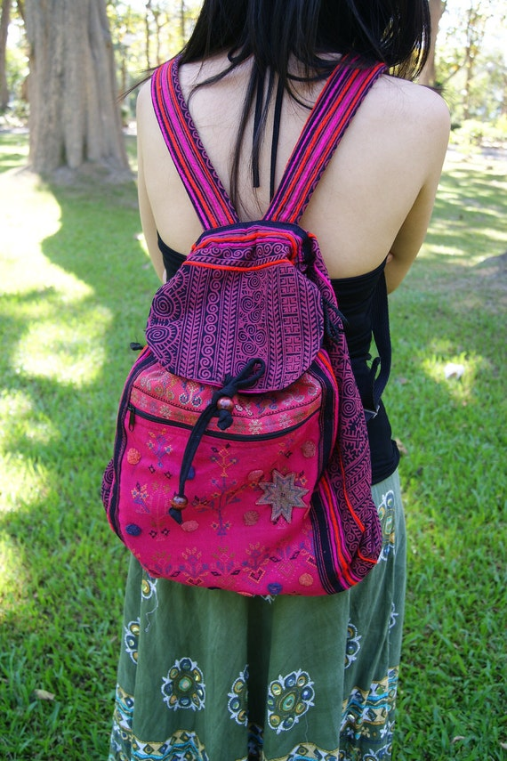 Stylish and very useful  Vintage Hmong Backpack