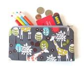 Giraffe Pencil Case Zipper Pencil Pouch Gray Children Adults Back to School