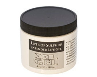 THE BEST Liver of Sulfur Gel- 4oz
