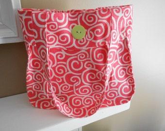 Coral Folklore Bag