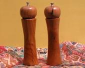 Pepper Grinder and Salt Grinder handmade from Mesquite Hardwoods