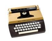 "Toy Typewriter, 1976, English. Byron Jardine ""Petite Super International"""
