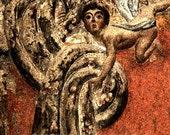 Cherub Fresco Religious Christian 11x14 Limited Edition Print