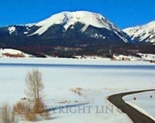 Colorado Winter Winding Road 11x14 Limited Edition Print