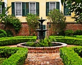 French Quarter New Orleans Garden Courtyard 11x14 Limited Edition Print