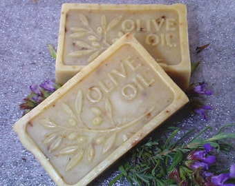 All Natural Handmade Olive Oil Soap Fragrance Free