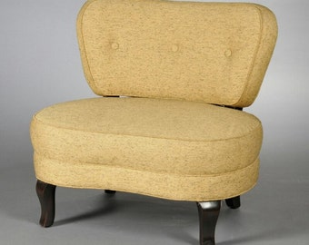 Oversized Mid Century Modern Chair by Edward Wormley for Dunbar