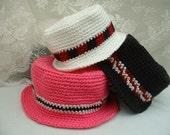 Crochet Hat Pattern Bucket Style in Multi Sizes 110