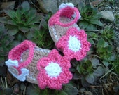 Easy Crochet Baby Sandals Pattern 215