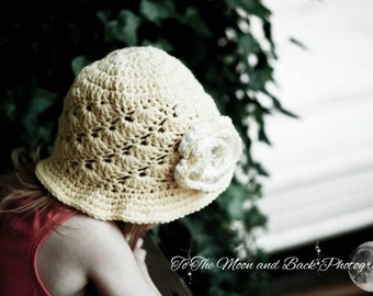 Crochet Hat Pattern in Multi Sizes 145