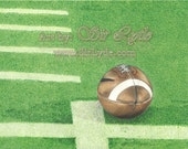 First Down (Colored Pencil Drawing) Print
