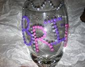 BridesMaids Glasses(set of 9)