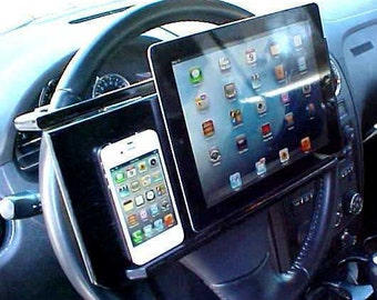 CAR - HOME - iPad - iPhone Stand - Steering Wheel Table
