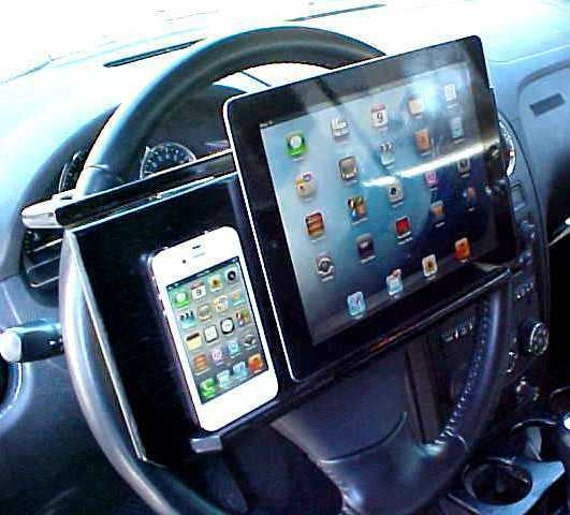 CAR - HOME - iPad - iPhone Stand - Steering Wheel Table