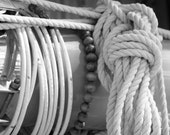 Catboat Mast, 8x10 Photograph