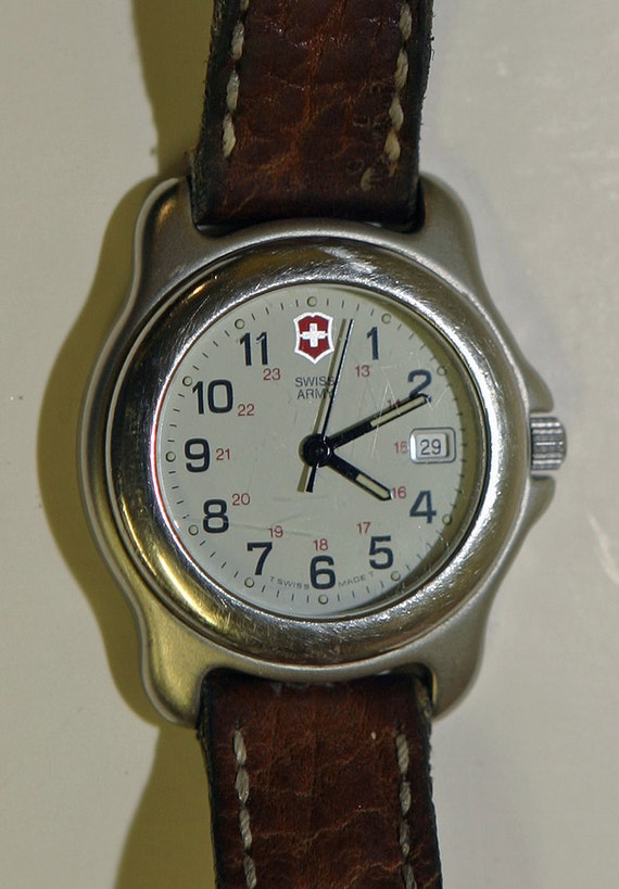 Vintage 1991 Women's SWISS ARMY WATCH All by ...