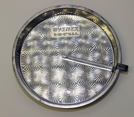 Reserve Vintage Tin Ovenex Cornbread Baking Pan