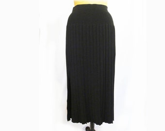 1980s Accordian Pleat Maxi Skirt- One of a Kind