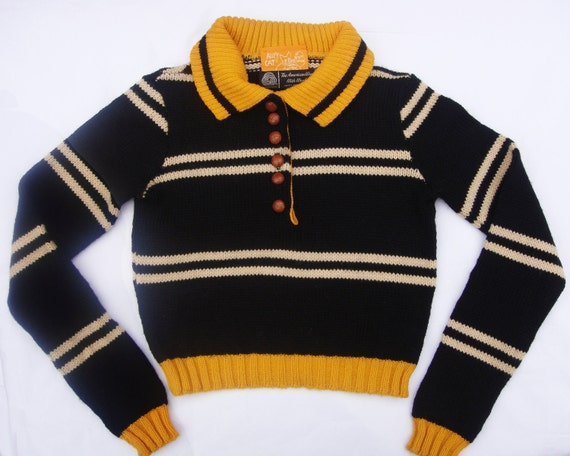 RARE 1960s Betsey Johnson ALLEY CAT Sweater